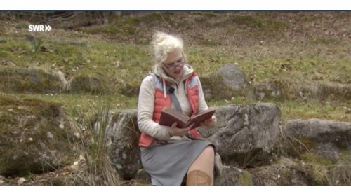 Barbara Geiger als Fräulein Brehm im Fernsehen
